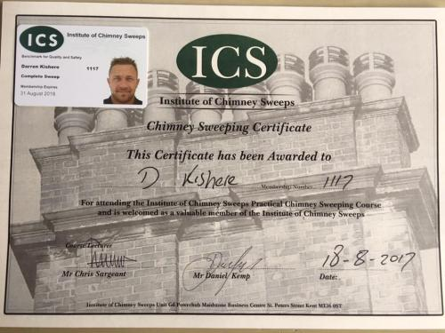 Complete Sweep Are ICS Registered