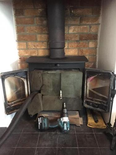 Chimney Sweep & Blockage Removal Job