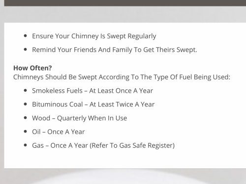 Chimney Sweeping Tips